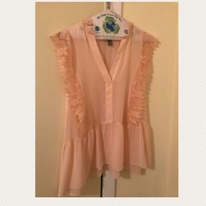 Pre-owned Blush top